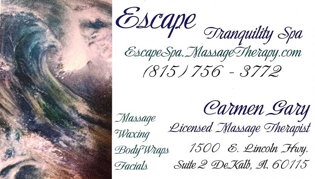 escape tranquility logo